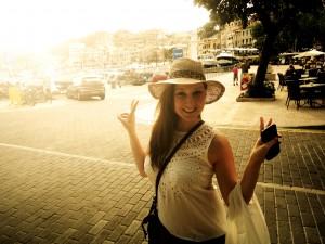 On vacation in Puerto de Soller, Mallorca