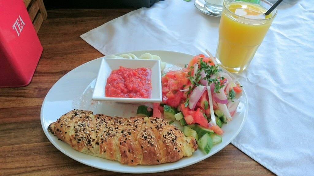 Breakfast at Cafe Yaffo