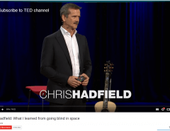Chris Hadfield TED Talk Vancouver 2014