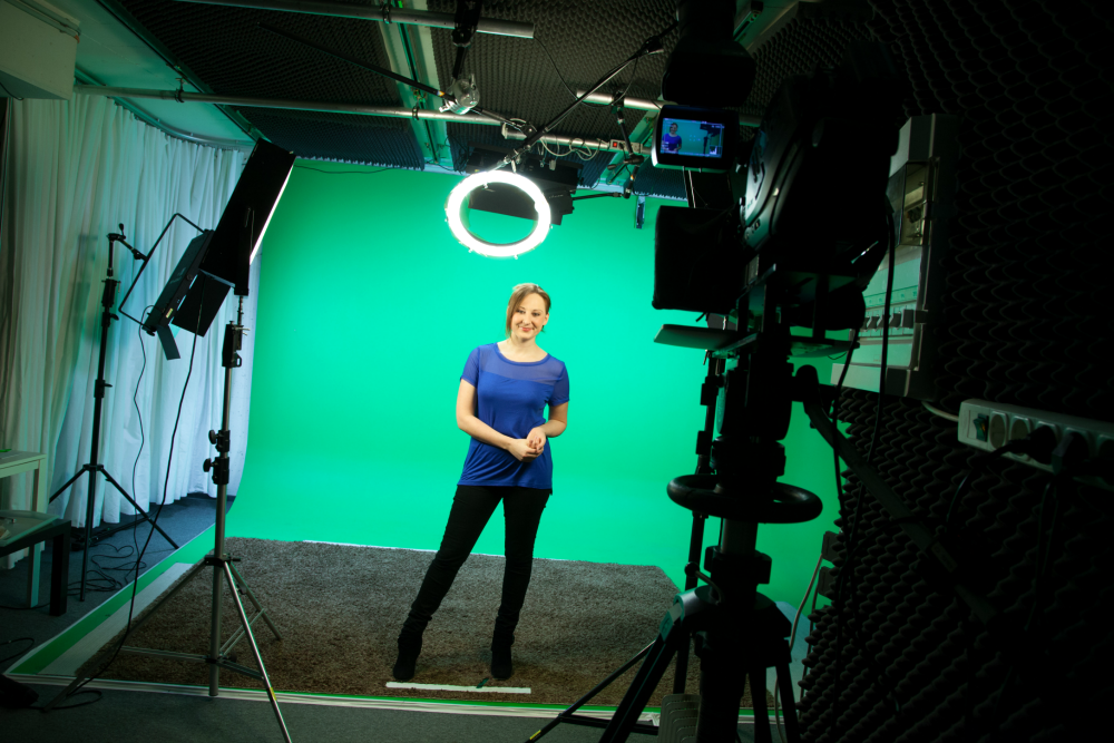 more green screen at video2brain